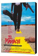 El Mariachi - 27 x 40 Movie Poster - Style A - Museum Wrapped Canvas