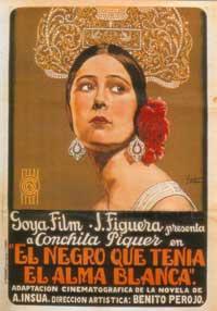 El negro que tenia el alma blanca - 11 x 17 Movie Poster - Spanish Style A
