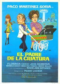 El Padre de la criatura - 27 x 40 Movie Poster - Spanish Style A