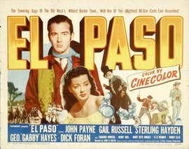 El Paso - 11 x 17 Movie Poster - Style A