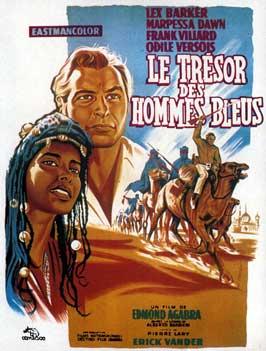 El secreto de los hombres azules - 11 x 17 Movie Poster - French Style A