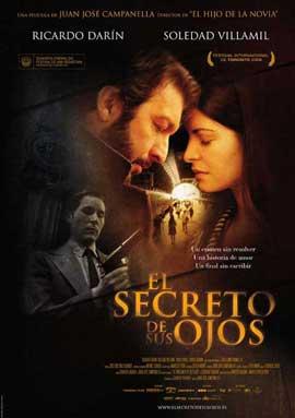 El Secreto de sus Ojos - 11 x 17 Movie Poster - Spanish Style A