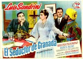 El seductor de Granada - 11 x 17 Movie Poster - Spanish Style A