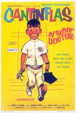El Senor Doctor - 11 x 17 Movie Poster - Spanish Style B