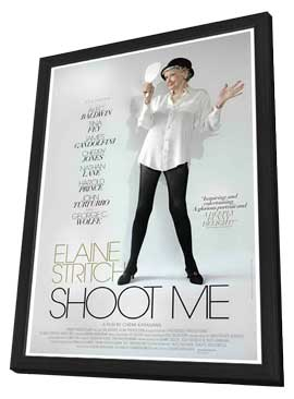 Elaine Stritch: Shoot Me - 11 x 17 Movie Poster - Style A - in Deluxe Wood Frame