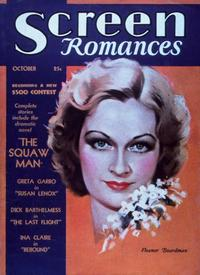 Eleanor Boardman - 11 x 17 Screen Romances Magazine Cover 1930's