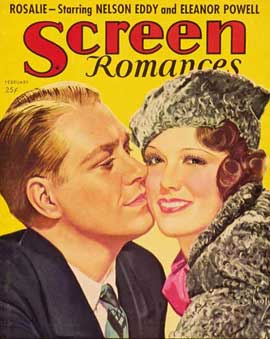 Eleanor Powell - 11 x 17 Screen Romances Magazine Cover 1930's