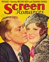 Eleanor Powell - 27 x 40 Movie Poster - Screen Romances Magazine Cover 1930's