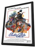 Electra Glide in Blue - 11 x 17 Movie Poster - Style A - in Deluxe Wood Frame