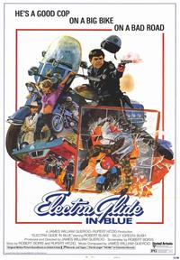 Electra Glide in Blue - 43 x 62 Movie Poster - Bus Shelter Style A