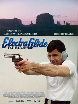 Electra Glide in Blue - 11 x 17 Movie Poster - French Style B