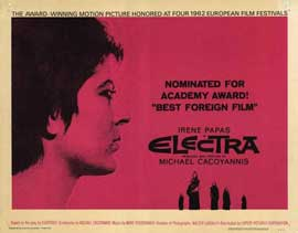 Electra - 22 x 28 Movie Poster - Half Sheet Style A