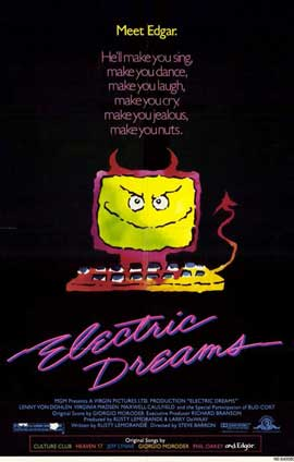 Electric Dreams - 11 x 17 Movie Poster - Style A