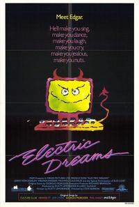 Electric Dreams - 43 x 62 Movie Poster - Bus Shelter Style A