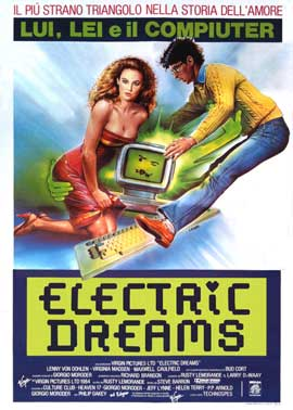 Electric Dreams - 11 x 17 Movie Poster - Italian Style A