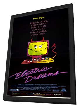 Electric Dreams - 11 x 17 Movie Poster - Style A - in Deluxe Wood Frame