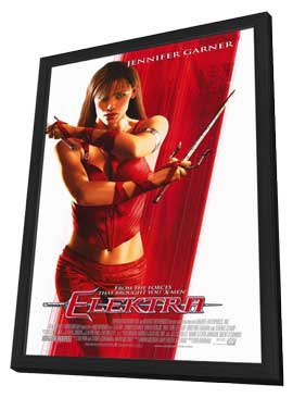 Elektra - 27 x 40 Movie Poster - Style B - in Deluxe Wood Frame