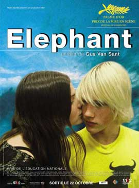 Elephant - 11 x 17 Movie Poster - French Style A