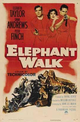 Elephant Walk - 27 x 40 Movie Poster - Style B