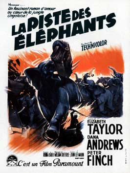 Elephant Walk - 11 x 17 Movie Poster - French Style A