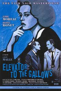 Elevator to the Gallows - 27 x 40 Movie Poster - Style B