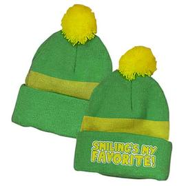 Elf - Smiling's My Favorite Green Beanie Hat