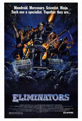The Eliminators - 11 x 17 Movie Poster - Style A