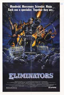 The Eliminators - 27 x 40 Movie Poster - Style A