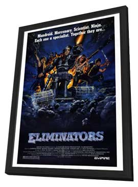 The Eliminators - 11 x 17 Movie Poster - Style A - in Deluxe Wood Frame