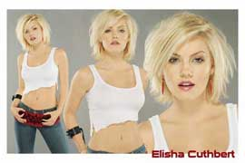 Elisha Cuthbert - 24 x 36 Movie Poster - Style A