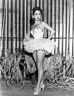 Elizabeth Taylor - Elizabeth Taylor Posed in Ballet Outfit Classic Portrait