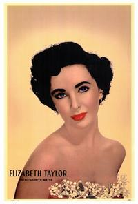 Elizabeth Taylor - 27 x 40 Movie Poster - Style A