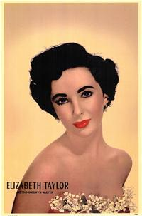 Elizabeth Taylor - 43 x 62 Movie Poster - Bus Shelter Style A