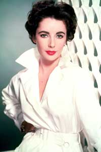 Elizabeth Taylor - 8 x 10 Color Photo #77