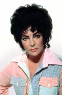 Elizabeth Taylor - 8 x 10 Color Photo #88