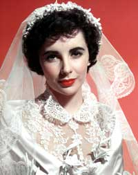 Elizabeth Taylor - 8 x 10 Color Photo #90