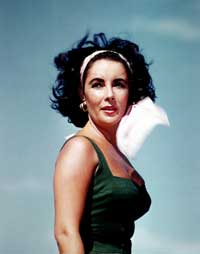 Elizabeth Taylor - 8 x 10 Color Photo #104