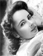 Elizabeth Taylor - Elizabeth Taylor Lying Pose Classic Portrait