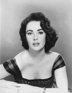 Elizabeth Taylor - Elizabeth Taylor posed in Dress Classic Portrait
