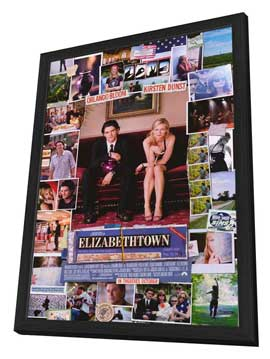 Elizabethtown - 11 x 17 Movie Poster - Style B - in Deluxe Wood Frame