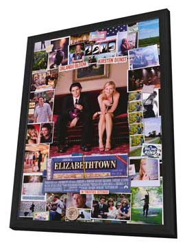 Elizabethtown - 27 x 40 Movie Poster - Style A - in Deluxe Wood Frame