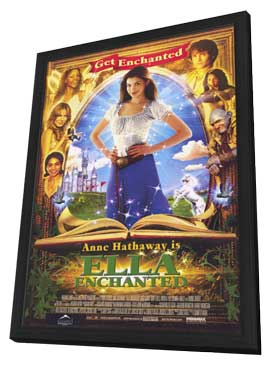 Ella Enchanted - 11 x 17 Movie Poster - Style A - in Deluxe Wood Frame