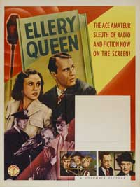 Ellery Queen, Master Detective - 27 x 40 Movie Poster - Style B