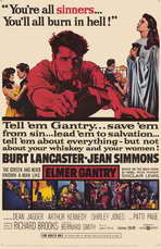 Elmer Gantry - 11 x 17 Movie Poster - Style A
