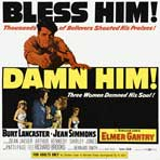 Elmer Gantry - 30 x 30 Movie Poster - Style A