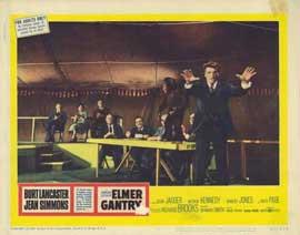 Elmer Gantry - 11 x 14 Movie Poster - Style A