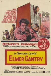Elmer Gantry - 27 x 40 Movie Poster - Style B