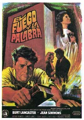 Elmer Gantry - 11 x 17 Movie Poster - Spanish Style A
