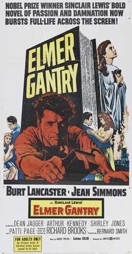 Elmer Gantry - 20 x 40 Movie Poster - Style A