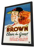 Elmer the Great - 11 x 17 Movie Poster - Style A - in Deluxe Wood Frame